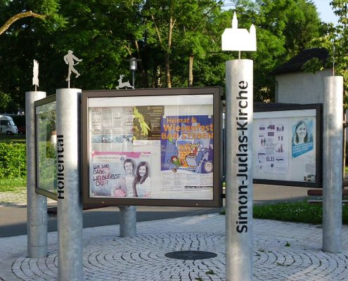 Dorfplatzgestaltung Issigau